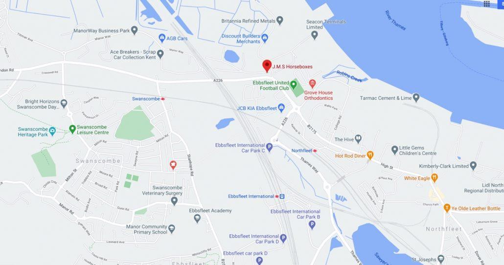 JMS Location Map